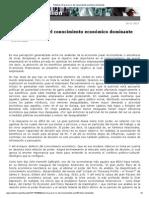 Navarro, V. El gran error del conocimiento económico dominante, 11-13