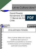 Presentación ¿Qué es Cultura Libre?