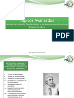 Motivación Laboral y Gestión de Recursos Humanos en la Teoría de Rederick Herzberg