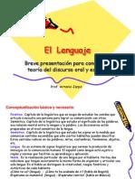 Aspecto Del Lenguaje - El Lenguaje de Los Chilenos