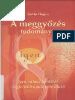 Kevin Hogan - A meggyőzés tudománya