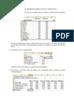 Ejercicios Referencias Relativas y Absolutas