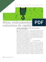 155 Betas Endeudamiento y Estructura de Capital