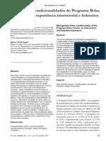 A GESTÃO DAS CONDICIONALIDADES DO PROGRAMA BOLSA FAMÍLIA- UMA EXPERIÊNCIA INTERSETORIAL E FEDERATIVA.pdf