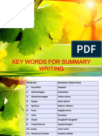 KEY WORDS FOR SUMMARY WRITING.pptx