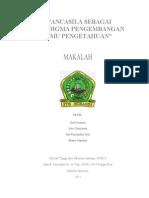 Makalah-Pancasila  sbg paradigma perkembangan ilmu pengetahuan.doc