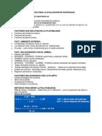 Criterios y Metodos de Evaluacion de PRADERAS