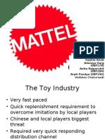 Mattel case SDM