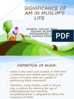 THE SIGNIFICANCE OF AHKAM IN MUSLIM'S LIFE.pptx