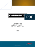 Carbonite Setup Manual(4802DR 120 07.3) E