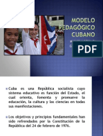 MODELO PEDAGÓGICO CUBANO diapositivas