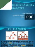 Pacientes con cáncer y diabetes julio y josaly