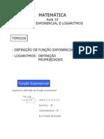 Matemtica Aula10 Funoexponencialelogaritmos 111003180117 Phpapp01