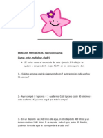 PROBLEMAS  DE  MATEMÁTICAS  DE  SEXTO GRADO (2)