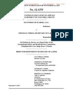 OSHA's Legal Brief vs SeaWorld's Appeal