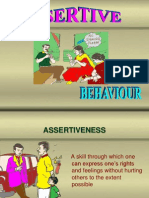 9_Assertive behaviour(one month).ppt