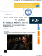 11-11-13 Gestionará Marcela Guerra más recursos para seguridad