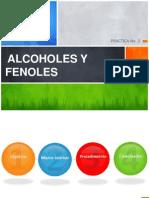 ALCOHOLES Y FENOLES Quimica Organica Beatriz Quintero
