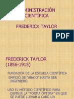 TAYLOR Administración científica