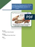 CÃ_lculo del contenido de niacina de la dieta 5