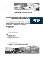 Sistema Integrado de Administración Financiera - SIAF