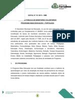 Edital Monitores Do Mais Educao 2013 Corrigido