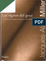JA Miller Los Signos Del Goce