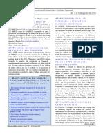 Hidrocarburos Bolivia Informe Semanal Del 3 Al 9 de Agosto 2009