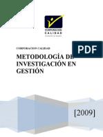 Metodologia de Investigacion en Gestion