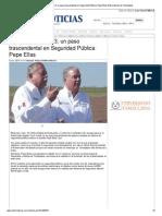 11-11-2013 'Inauguración del C3, un paso trascendental en Seguridad Pública