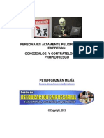 PERSONAJES ALTAMENTE PELIGROSOS EN LAS EMPRESAS 1.0