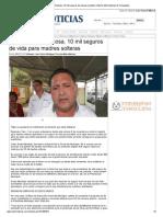 11-11-2013 'Expedirán en Reynosa, 10 mil seguros de vida para madres solteras'
