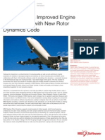 NASA Studies Improved Engine Performance With  MSC Nastran Rotor Dynamics Capabilty!