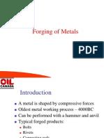 Forging Metal