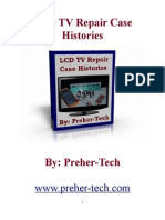 LCD TV Repair Case Histories