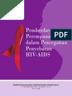 Pemberdayaan Perempuan Dalam Pencegahan Penularan HIV Dan AIDS