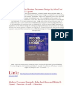 Solution Manual for Modern Processor Design by John Paul Shen and Mikko H. Lipasti.pdf