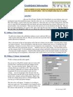 Grade Quick Information August 2009