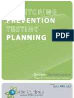 IT3 - Server Maintenance