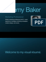 Jeremy Baker's Visual Resume