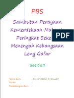 Folio Sambutan Perayaan Kemerdekaan Malaysia Peringkat Sekolah