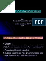 PENILAIAN STATUS PENENTUAN GIZI-P fat-mrt-2008.ppt