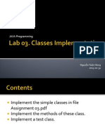 Lab Lecture 03