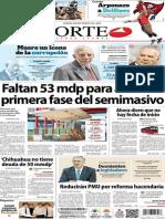 Periodico Norte de Ciudad Juarez 12 de Noviembre de 2013