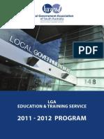 2011-2012 Program - LGA Education and Training Service