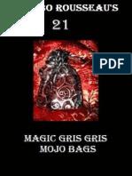 135806640 Mambo Rousseau s Magic Gris Gris Mojo Bags Rousseau Mambo