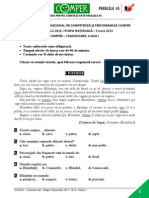 LimbaRomana EtapaN 12-13 ClasaI Comper