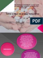 Aditivi si tipuri de produse farmaceutice - Haraga Gratiela.ppt
