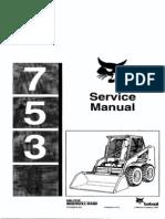 Bobcat 753 Service Manual