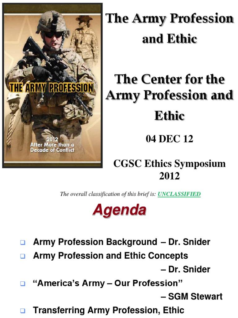 army profession